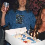 How Liane Gabora and I set fire to Dave Chalmers' hair on his 34th birthday, Tuscon 2000