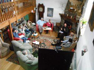 Discussions underway at Memelab 2013.